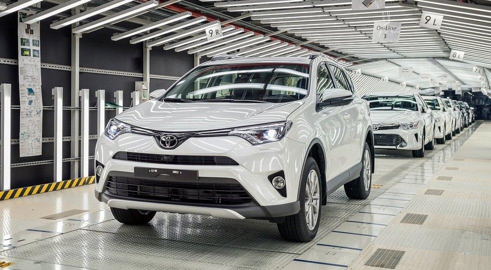 Toyota Camry будет собираться из российских комплектующих