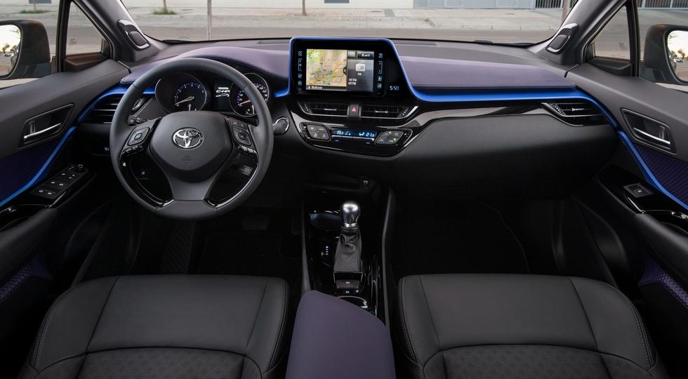 Объявлена цена кроссовера Toyota C-HR для России