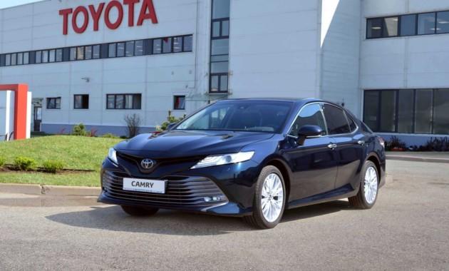 Состоялась церемония запуска производства новой Toyota Camry
