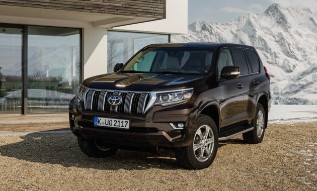 Toyota не планирует производить Land Cruiser Prado в России