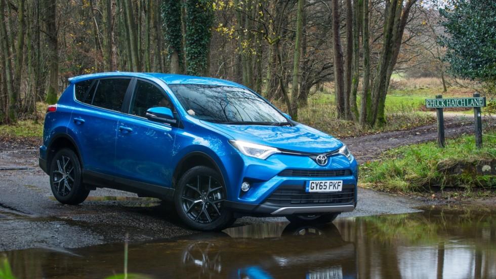 Toyota прекратила выпуск дизельного RAV4