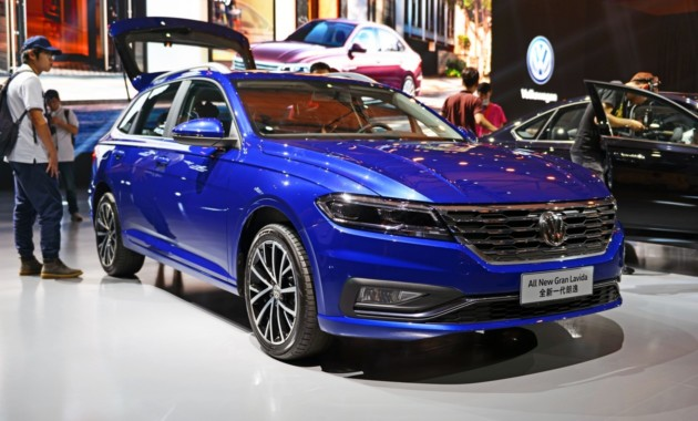 В Китае дебютировал Volkswagen Gran Lavida