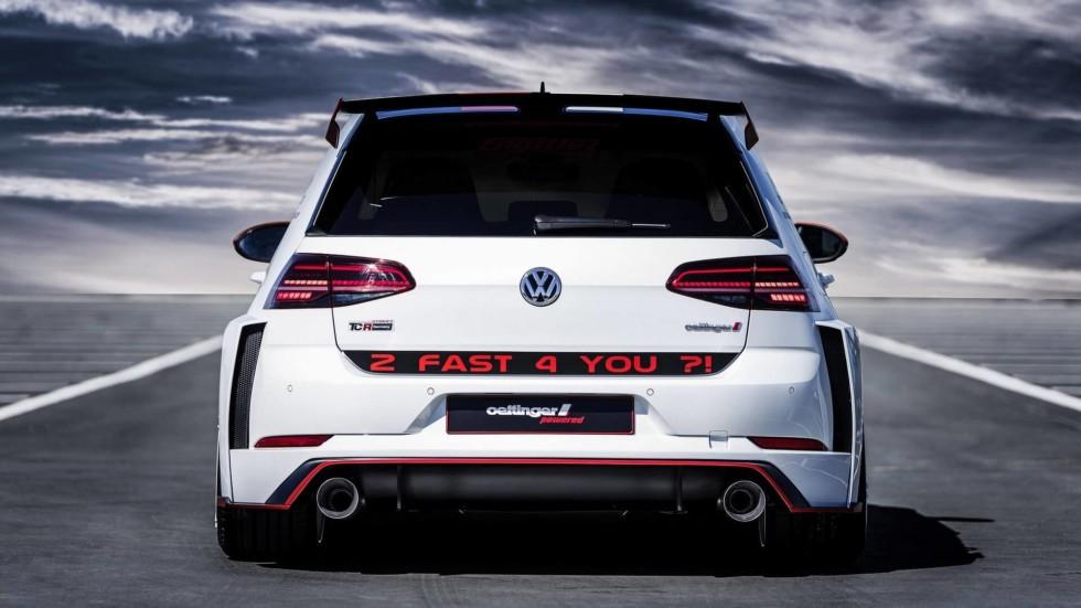 Oettinger построил 355-сильный Volkswagen Golf GTI