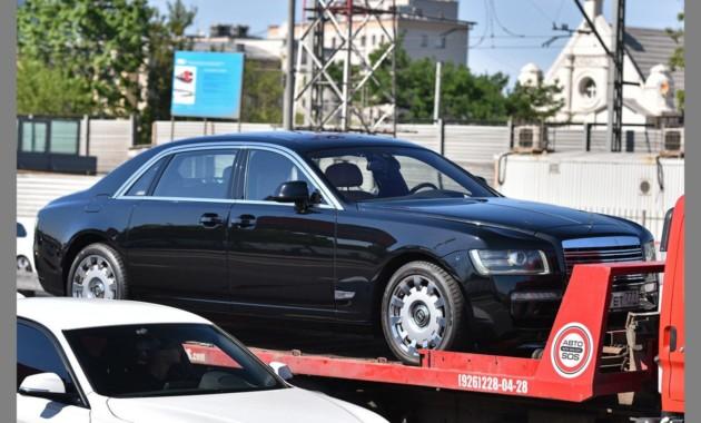 Появились фото седана ЗИЛ, который Rolls-Royce