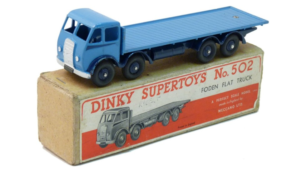 Foden Flat Truck / Dinky Toys (металл)