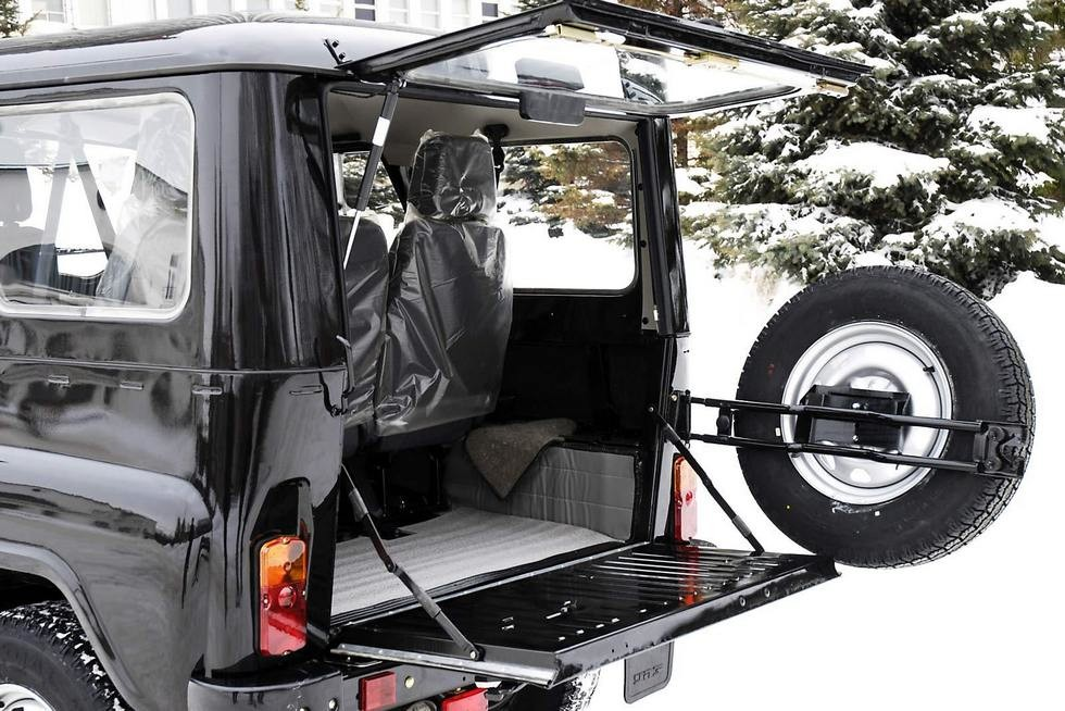 Багажник UAZ 469 '2010
