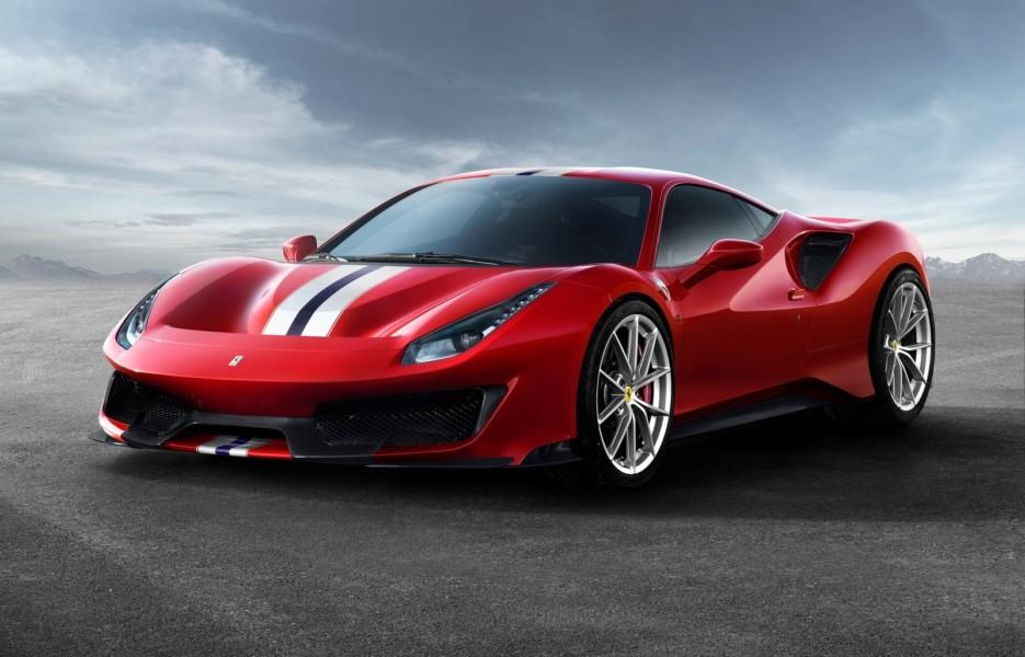 первые тесты Ferrari 488 Pista ураганная динамика но выверенные