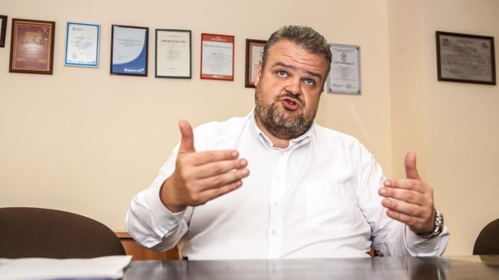 Директор проекта «Московский международный автомобильный салон» Пётр Вадимович Тутарашвили