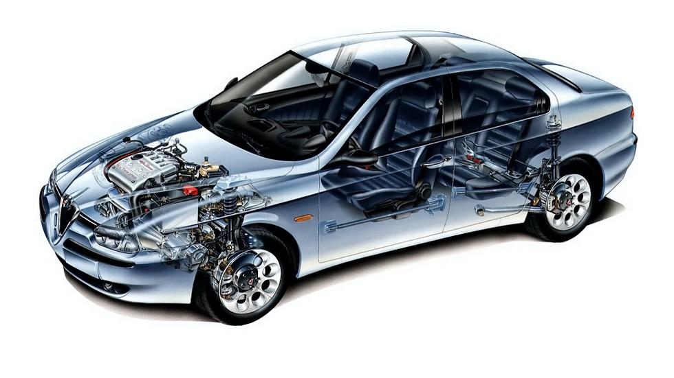 Alfa Romeo 156 Worldwide (932A) '1997–2002 схема