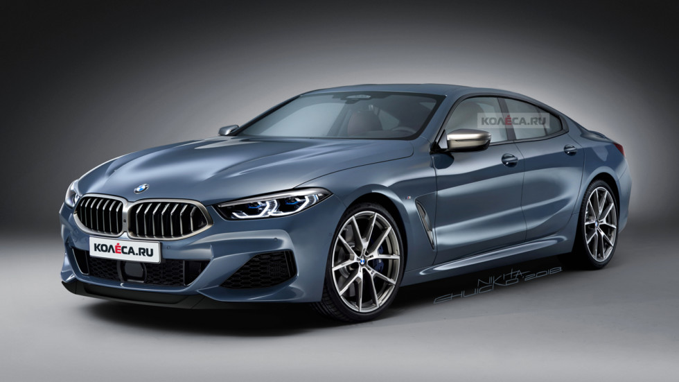 BMW 8 Gran Coupe front2