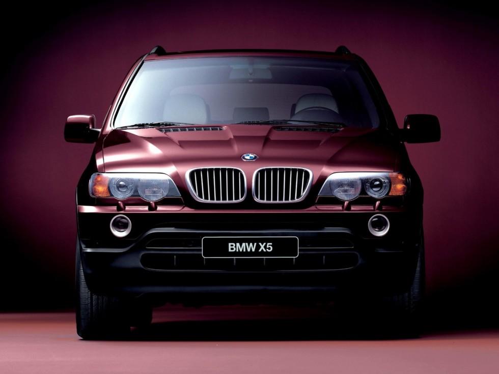 BMW X5 E53 спереди