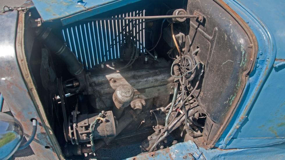ГАЗ-6 двигатель