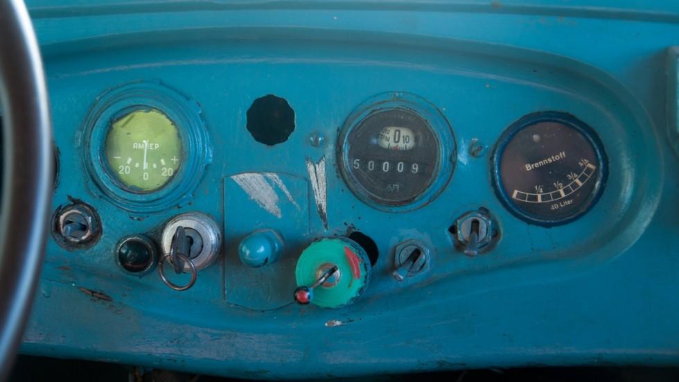 ГАЗ-6 приборы