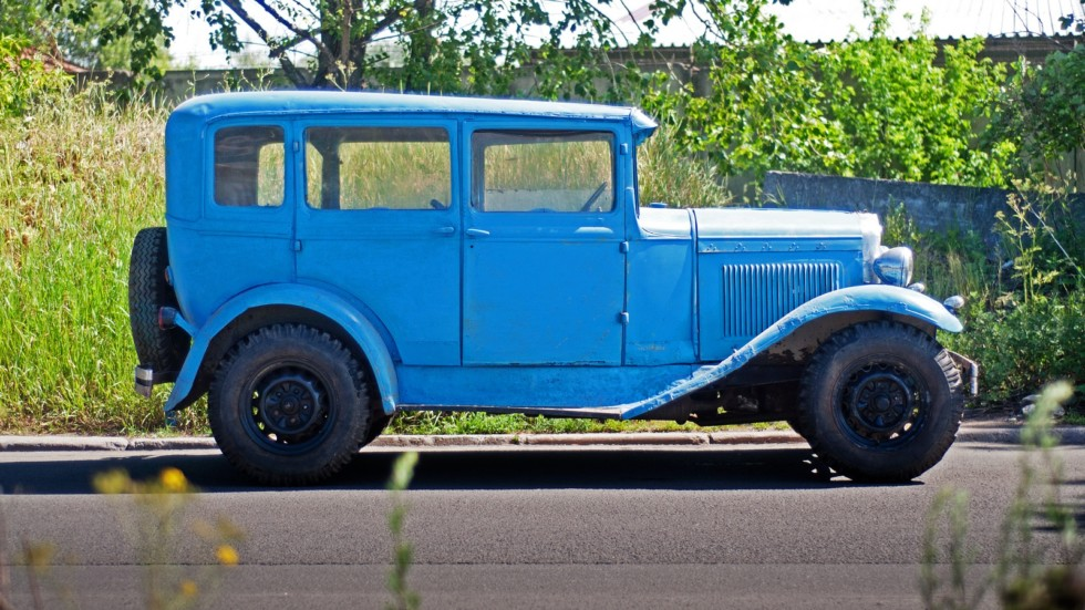ГАЗ-6 сбоку