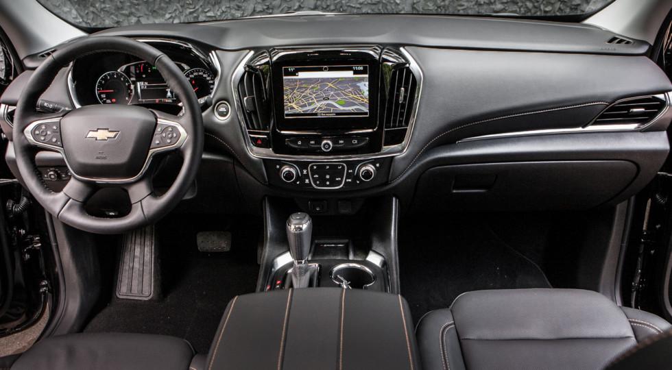 Салон Chevrolet Traverse