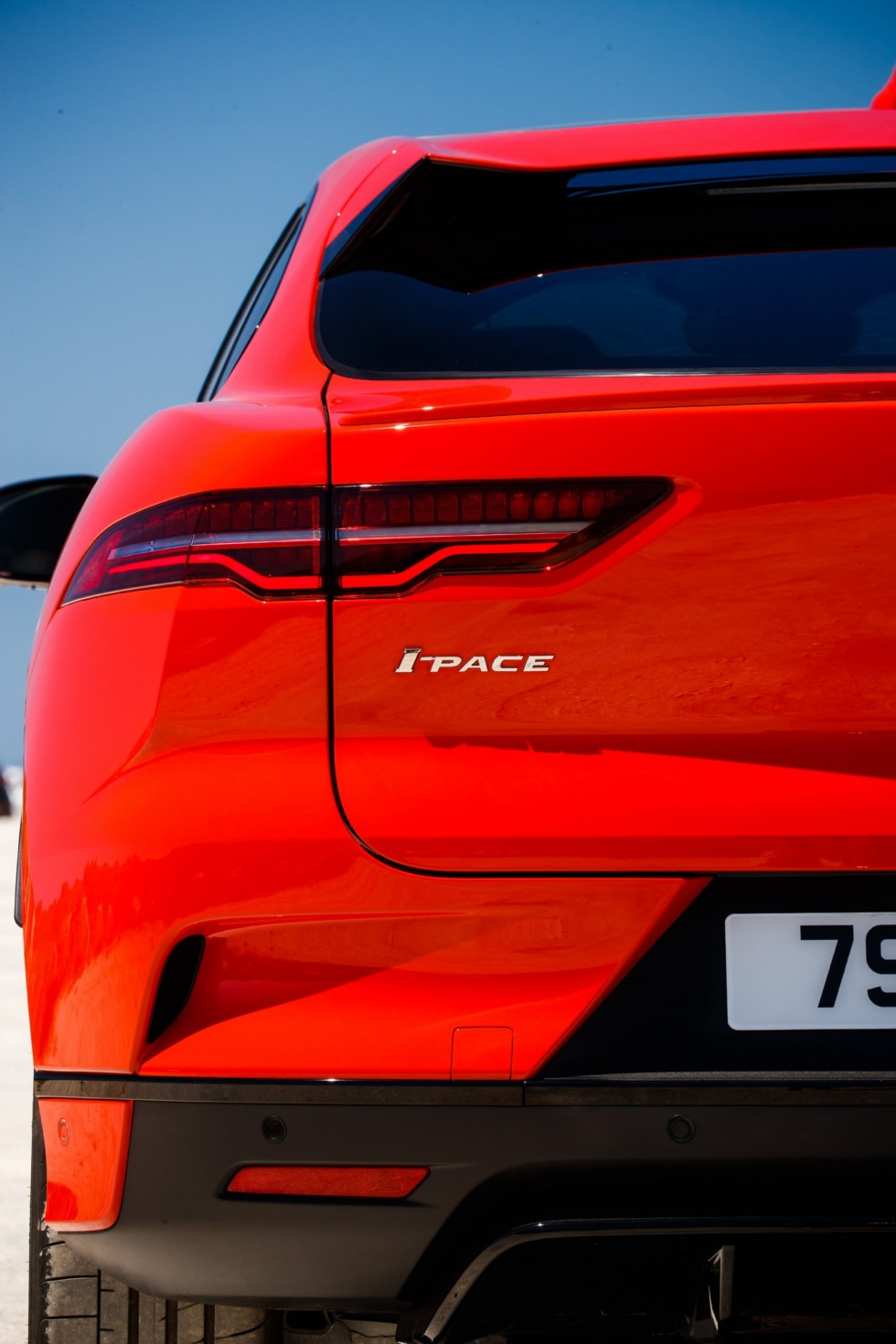 Jaguar I-PACE фонарь