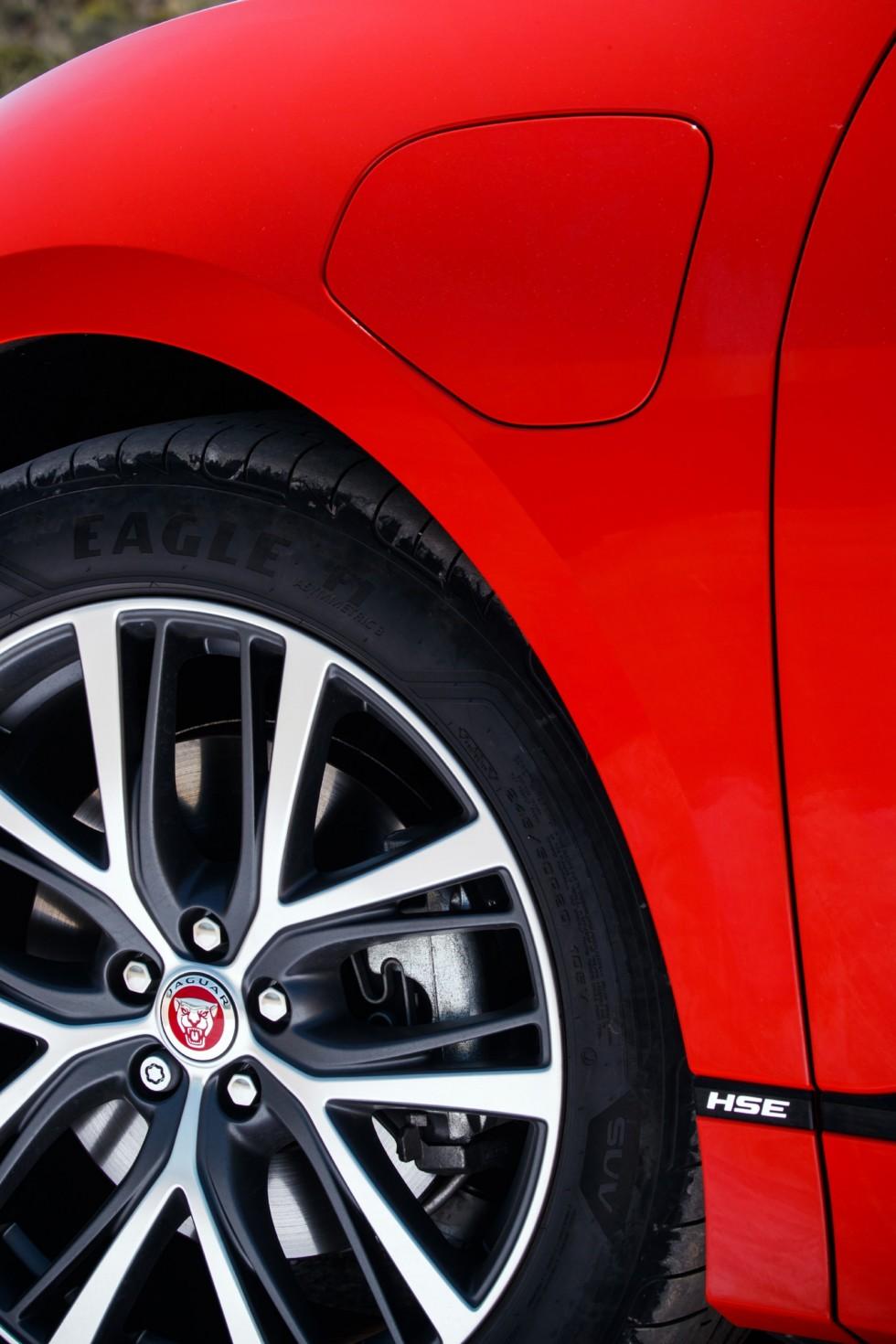 Jaguar I-PACE колесо