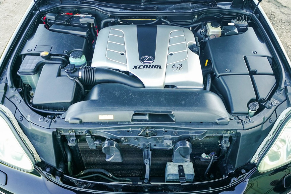 Lexus LS430 двигатель