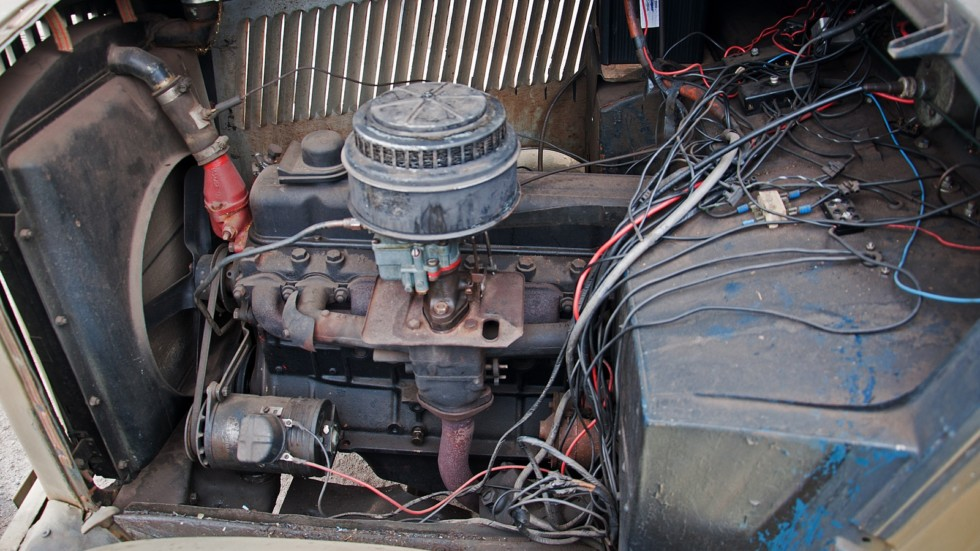 Opel Blitz двигатель