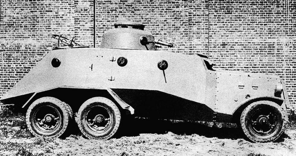 Опытный бронеавтомобиль Д-9