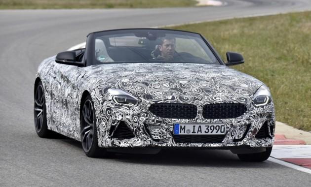 Новый BMW Z4: первые официальные фото