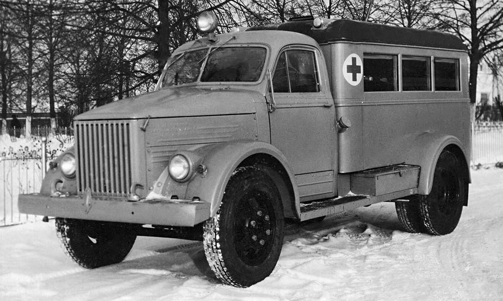 ПАЗ-653 '1953 медицинская
