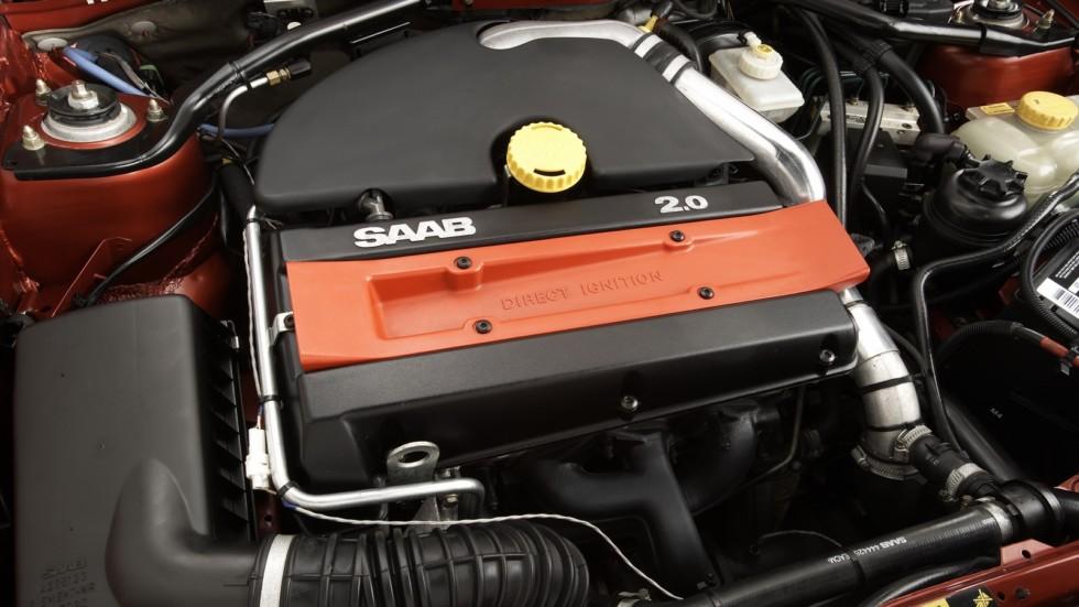 Под капотом Saab 900 SE Turbo Pikes Peak '1995