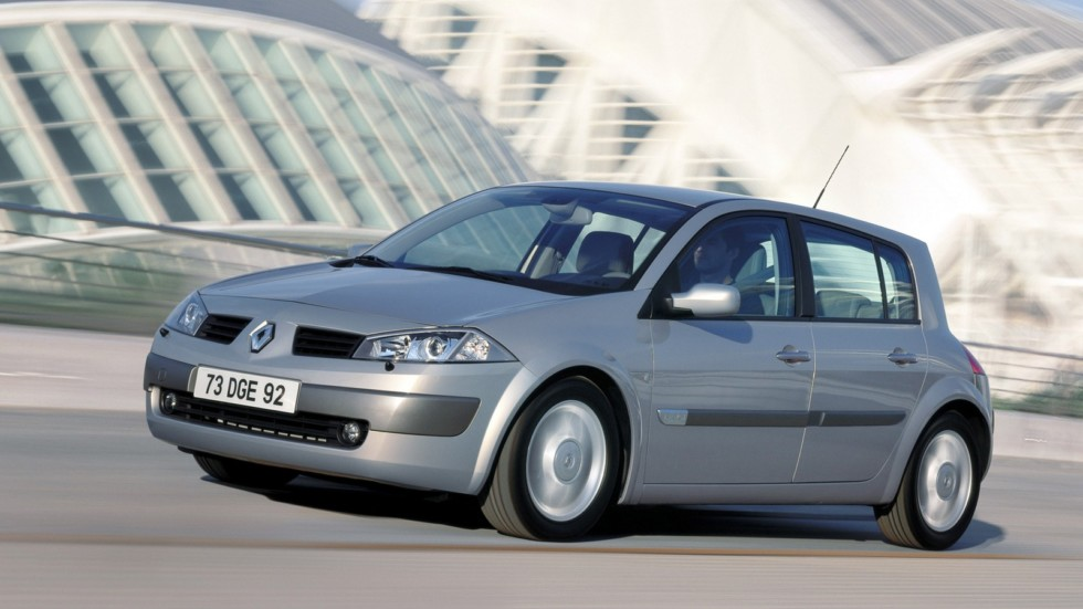 Renault Megane 5-door Worldwide '2003–06