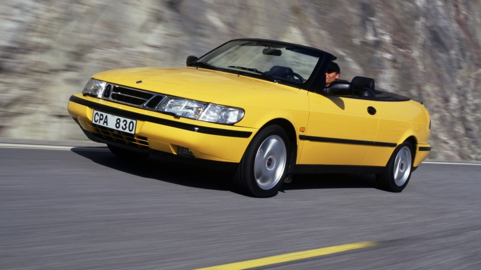 Saab 900 SE Turbo Convertible '1994–98