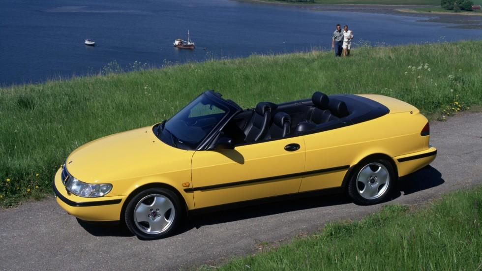 Saab 900 SE Turbo Convertible '1994–98фф