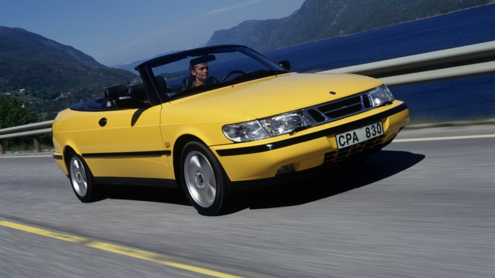 Saab 900 SE Turbo Convertible '1994–98ж