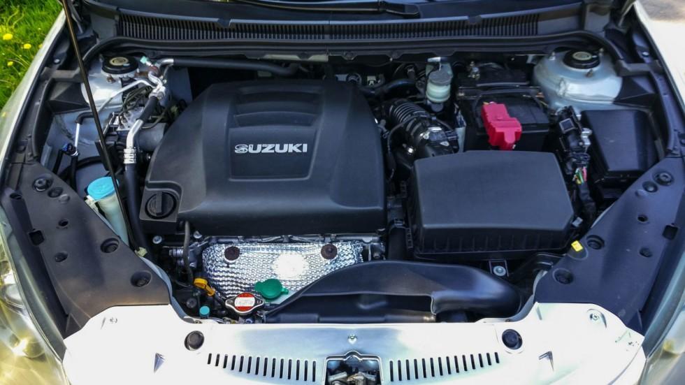 Suzuki Kizashi двигатель