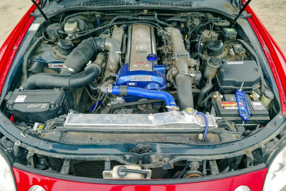 Toyota Soarer двигатель