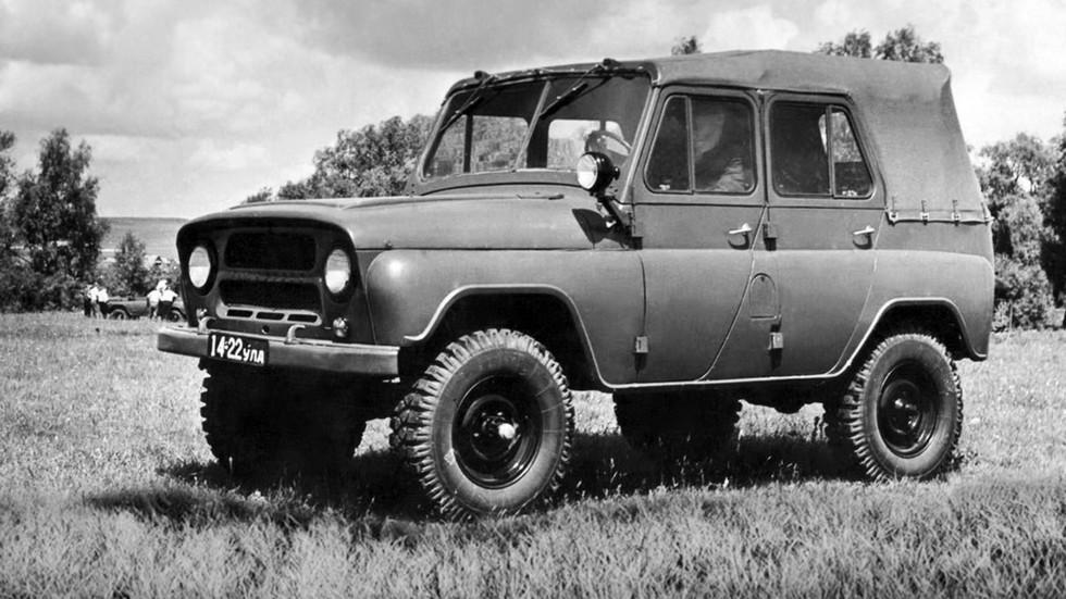 УАЗ-469 (Э-010,011,012) '1962