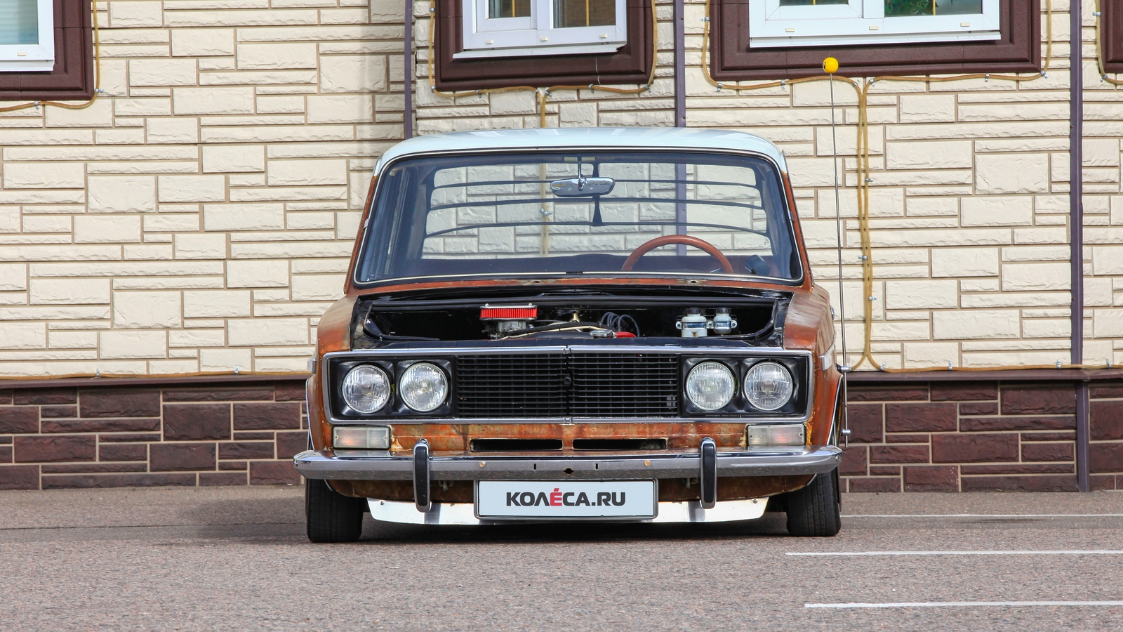 Тюнинг ВАЗ-2106 в стиле Ratlook - Колеса.ру