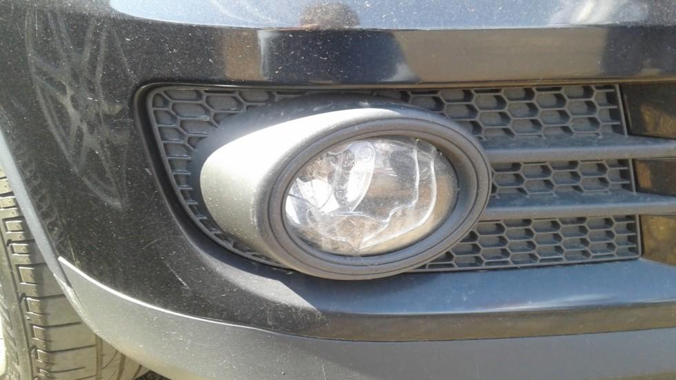 Volkswagen Tiguan противотуманка