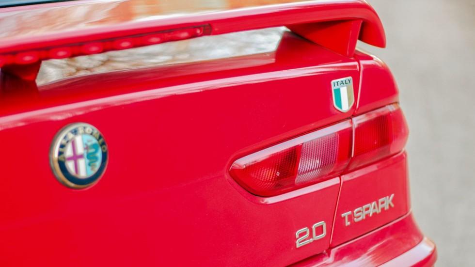 alfa romeo 156 красная задняя часть (2)