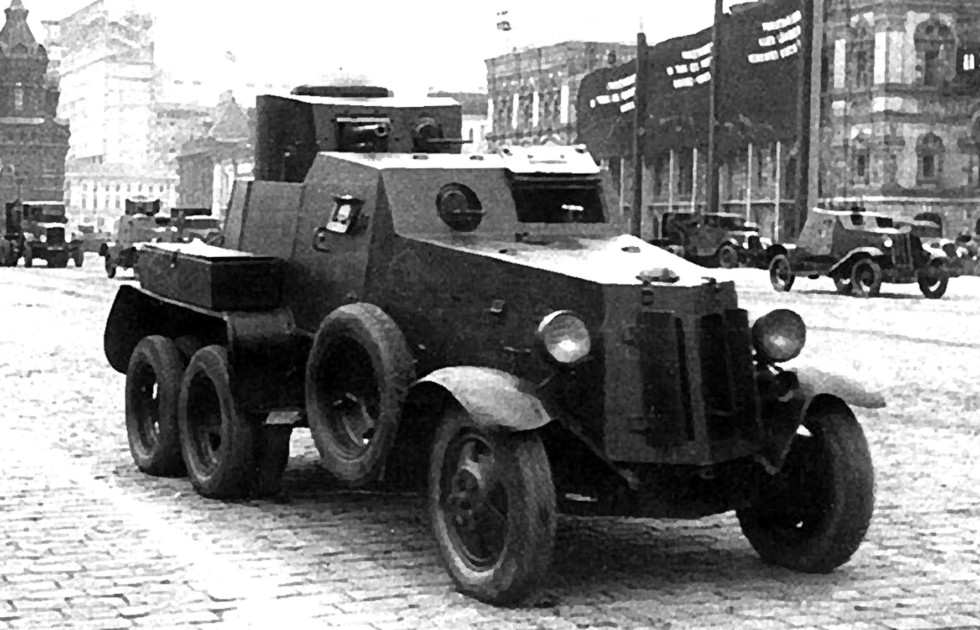 бронеавтомобиль БАИ