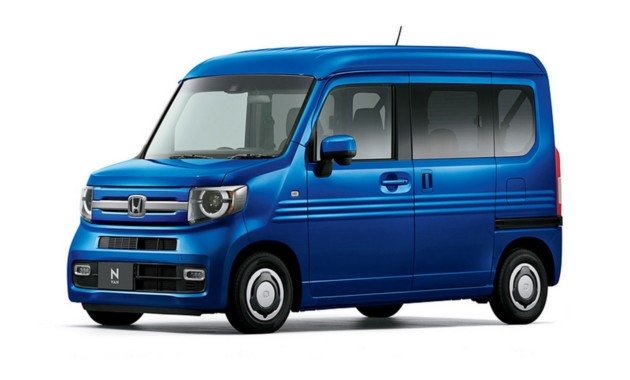 Honda сделала фургон N-Van из кей-кара