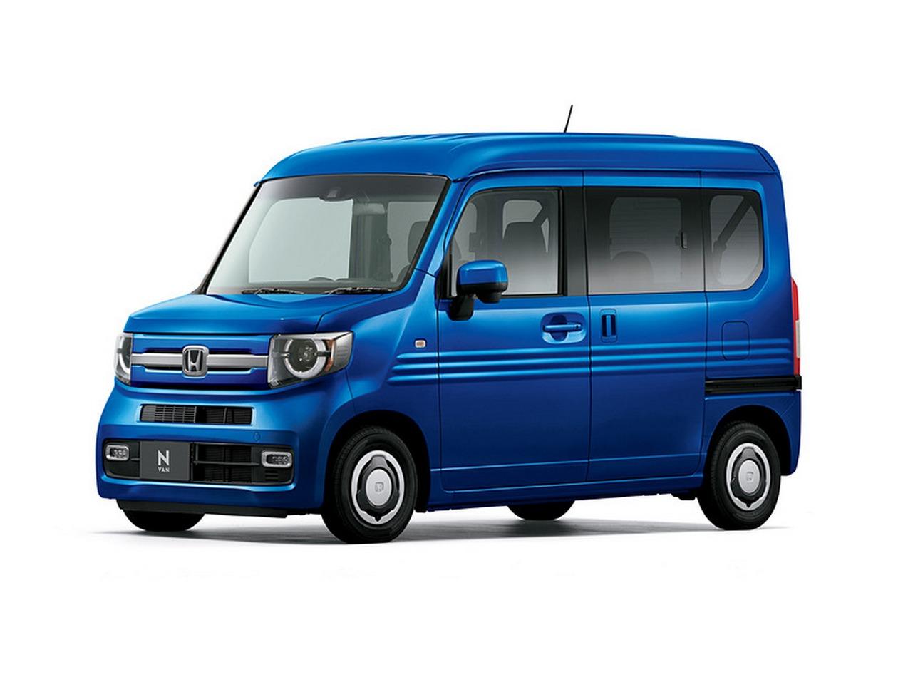 Honda сделала фургон N-Van из кей-кара - Колеса.ру