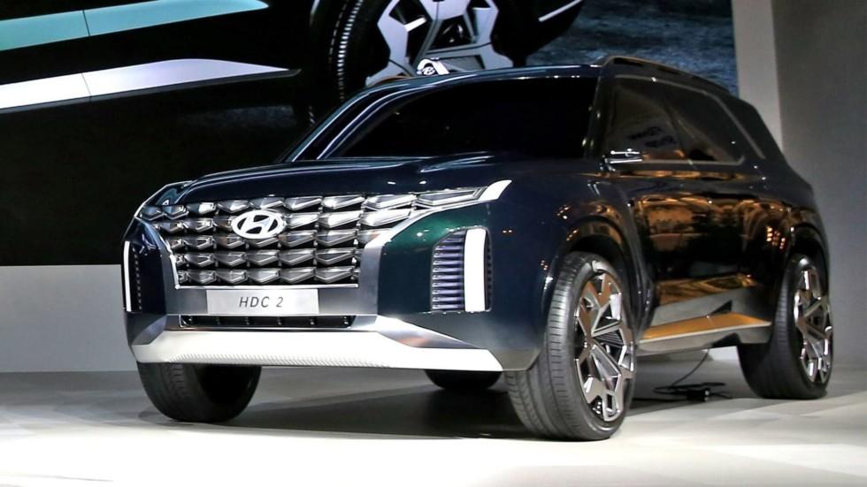 Hyundai показал предвестника флагманского кроссовера
