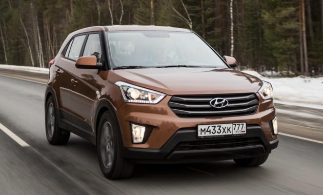 ТОП-10 SUV России: Kia Sportage обошел Lada 4x4