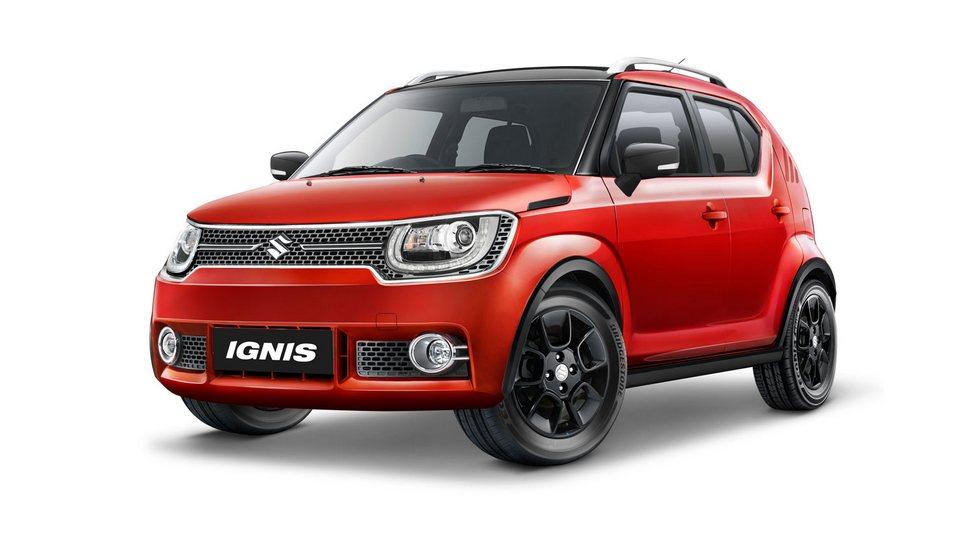 Еще один «малыш» Suzuki, доступный в Индонезии, - Ignis (3 700/1 690/1 595 мм, колесная база – 2 435 мм)