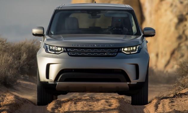 Обновленный Land Rover Discovery получил 306-сильный турбодизель