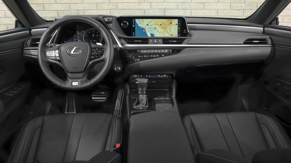 Российская версия седана Lexus ES: раскрыты подробности