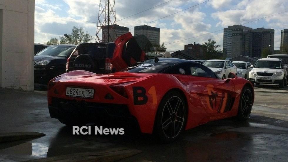Восстановление Marussia: новые фото