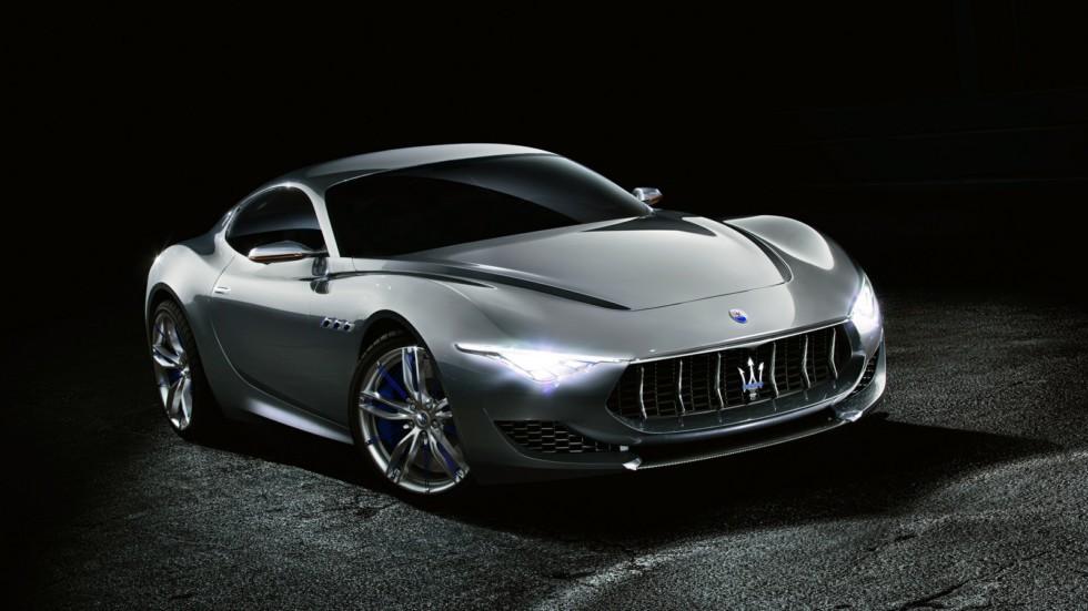 Концепт Alfieri дебютировал в 2014 году с двигателем V8. Выпуск серийной модели планировался на 2016 год.