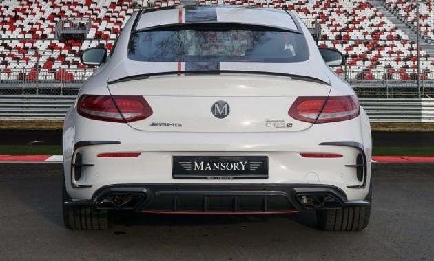 Mansory построил 650-сильный Mercedes-AMG C 63