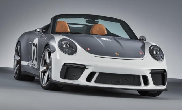 Porsche 911 Speedster: последний вздох перед…