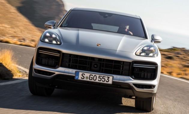 Купе Porsche Cayenne дебютирует в следующем году